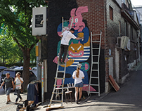 Mural Project with Levi Jacobs