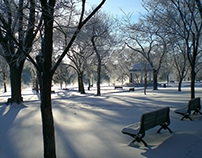 Winter Scenes in Saskatchewan
