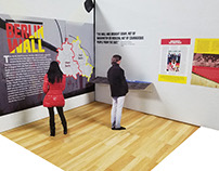 Berlin Wall Exhibition Project