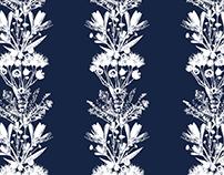 Floral Bouquet Stripe