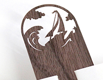 Wooden Lasercut Bookmarks