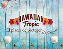 Días de sol y seda. Hawaiian Tropic