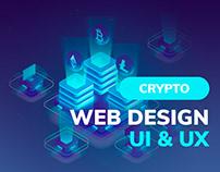 Blockchain Design Landing Page