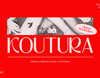 KOUTURA - Modern Fashion Fonts