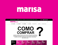 How to Buy - Marisa // Web Design