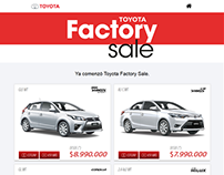 [ TOYOTA ] Factory Sale 2016