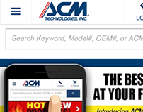 Mobile Website // ACM Technologies, Inc.