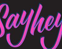 Say hey!