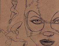 Sketchbook Sketches 2015