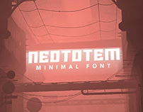 Neototem | Minimal Font