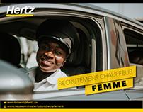 Campagne Recrutement Chauffeur Hertz SENEGAL