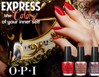 OPI Fashion Ad Campaign