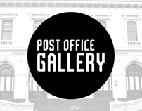 Post Office Gallery - Visual Identity