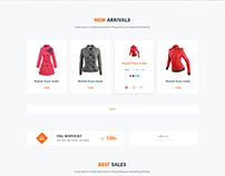 Offer Page - eCommerce Website