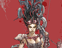 Futuro jurásico + Sirena gótica