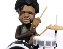 Questlove  Bobblehead figure