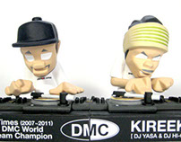 "5 Times DMC World Team Champion ""KIREEK"" figure"