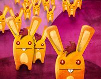 Bunny Alien invasion