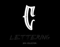 Lettering - 2014