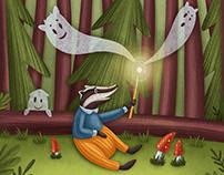 MAGIC FOREST. Children's book
