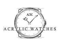Acrylic Watches / Logo