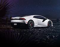 Lamborghini Huracan - CGI & Photography & Retouching