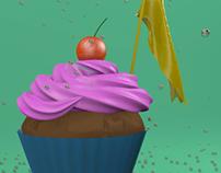 Cupcake 3D