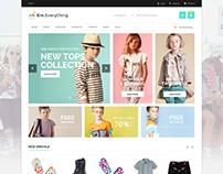 Everything Fashion Store  Magento 2.0 & 1.9