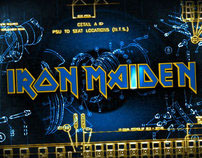 Iron Maiden Flight 666, Title Design