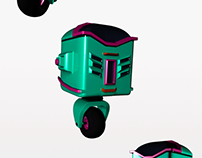 Robótico - Modelado 3D/Animación/Montaje