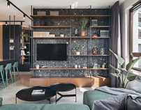 Apartment with the future in mind / 68 m² / Warsaw