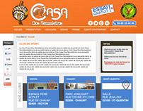 WEB DESIGN | Casa Dos Senzaleiros