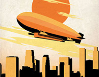 Lucht Travel Posters