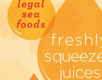 Legal Sea Foods' Breakfast Poster