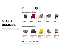 Mobile Designs (Concepts and Ideas)