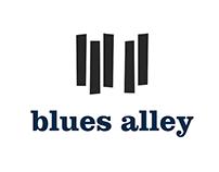 Blues Alley Re-Brand | Design Studio II