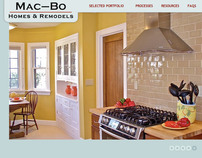 Website for Mac-Bo Homes and Remodels