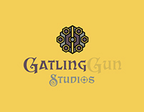 Gatling Gun Studios - Logo for Sale
