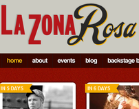 La Zona Rosa Website