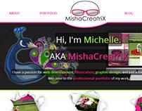 MishaCreatrix Website