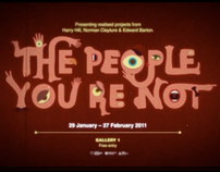 The People You're Not at Cornerhouse