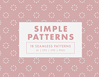 Simple Seamless Vector Patterns