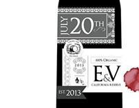 EV Wedding Invitation