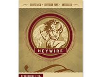 Heywire - Poster & Album Design
