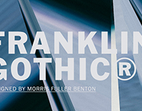Franklin Gothic by URW