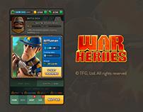 War Heroes - Game UI