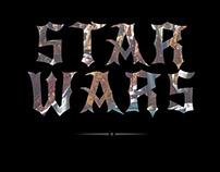STAR WARS collage series