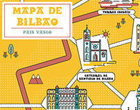 Map of Bilbao