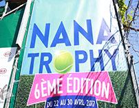 Nana Trophy is a Tunisian Tennis Tournament