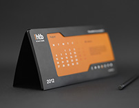 "TABLE CALENDAR ""HI-TECH BANK"""
